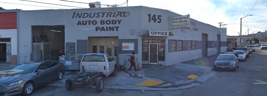 Industrial Auto Body Shop
