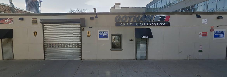 Gotham City Collision